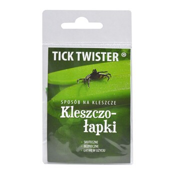 Tick Twister Kleszczołapki, haczyki do usuwania kleszczy, 2 szt.
