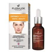 FlosLek Pharma Dermoexpert, White & Beauty, rozjaśniający peeling kwasowy, 30ml