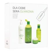Zestaw Promocyjny Ziaja Oliwkowa, żel pod prysznic, 500 ml + mleczko do ciała, 400 ml + krem, 50 ml + płyn micelarny, 200 ml