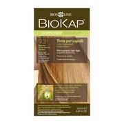 Biokap Nutricolor Delicato+, farba do włosów, 9.3 bardzo jasny złoty blond, 140 ml
