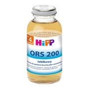 HiPP ORS 200, płyn nawadniający, jablkowy, 200 ml