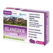 Islandzkie medic +, pastylki do ssania, 24 szt.