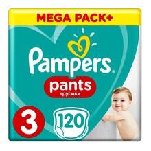 Pampers Pants 3, pieluchomajtki dla dzieci (6-11 kg), 120 szt.