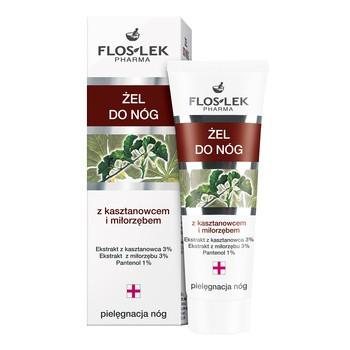 FlosLek Pharma, Pielęgnacja nóg, żel do nóg z kasztanowcem i miłorzębem, 50 ml