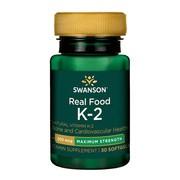 Swanson Witamina K2, 200 µg, kapsułki, 30 szt.