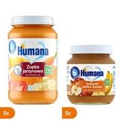 Zestaw Mix Humana 100% Organic