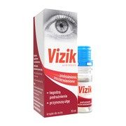 Vizik krople na podrażnione i zaczerwienione oczy, 10 ml