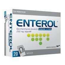 Enterol, 250 mg, kapsułki, 20 szt.
