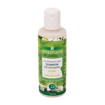 Orientana, ajerwudyjski szampon do włosów, jaśmin i migdałecznik, 210 ml