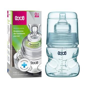 Lovi, butelka samosterylna, szerokootworowa, 150 ml