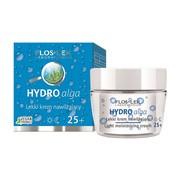 FlosLek Laboratorium Hydro alga, lekki krem nawilżający na dzień i na noc 25+, 50 ml