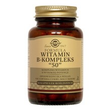 Solgar Formuła witamin B-kompleks 50, kapsułki, 50 szt.