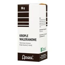 Krople walerianowe (nalewka walerianowa), 35 g (Amara)