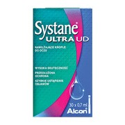 Systane Ultra UD, krople do oczu, 30 x 0,7 ml
