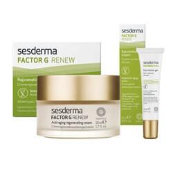 Zestaw Sesderma Factor G Renew (krem do twarzy + krem pod oczy)