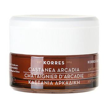 Korres Castanea Arcadia, krem na dzień dla cery normalnej i mieszanej, 40 ml