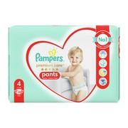 Pampers Premium Care Pants 4 (9−15 kg), pieluchomajtki jednorazowe, 38 szt.