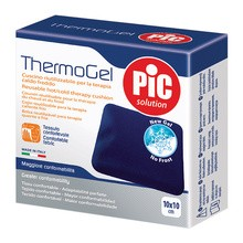 PiC Thermogel, kompres żelowy, zimno-ciepły, 10 x 10 cm, 1 szt.