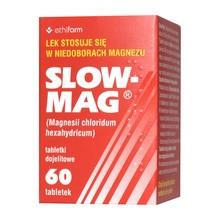 Slow-Mag, tabletki dojelitowe, 60 szt