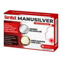 Gardlox Manusilver, pastylki do ssania, 16 szt.