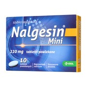 Nalgesin Mini, 220 mg, tabletki powlekane, 10 szt.