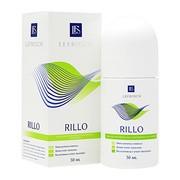 Rillo, emulsja zapobiegająca nadmiernej potliwości, roll-on, 50 ml