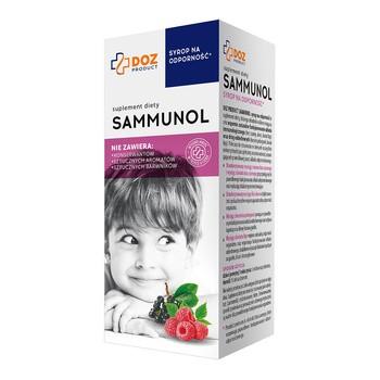 DOZ PRODUCT Sammunol, syrop, 120 ml