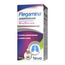 Flegamina ambroxolum, 30 mg/5 ml, syrop, 120 ml