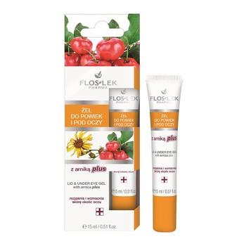 FlosLek Pharma, żel do powiek i pod oczy z arniką plus, 15 ml