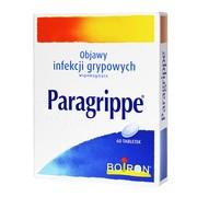 Boiron Paragrippe, tabletki, 60 szt.