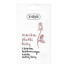 Ziaja Płatki róży, maseczka młodości z kwasem hialuronowym, 7 ml (saszetka)