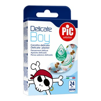 PiC Solution Delicate Boy, plastry 19 x 72 mm, 24 szt.