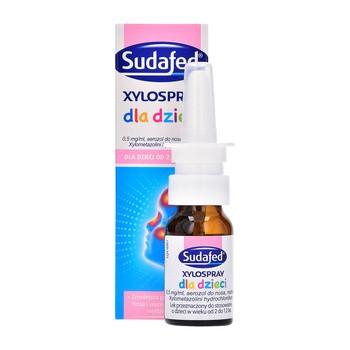 Sudafed XyloSpray dla dzieci, 0,5 mg/ml, aerozol do nosa, 10 ml