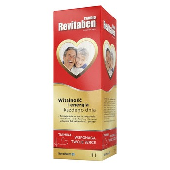 Revitaben Cardio, płyn, 1000 ml