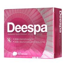 Deespa, 40 mg, tabletki, 40 szt.