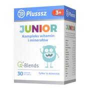 Plusssz Junior, tabletki do ssania, 30 szt.