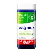 Bodymax Vital 50+, tabletki, 60 szt. + 20 szt.