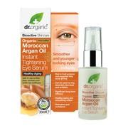 Dr. Organic Moroccan Argan Oil, rozświetlające serum pod oczy, 30 ml