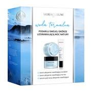 Zestaw Promocyjny Miraculum Woda Termalna, krem aktywnie nawilżający na dzień, 50 ml + krem aktywnie nawilżający na noc, 50 ml + serum pod oczy, 20 ml