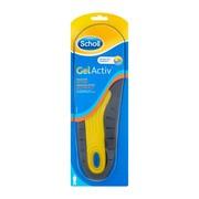 Scholl GelActiv, wkładki do obuwia do pracy męskie, 1 para