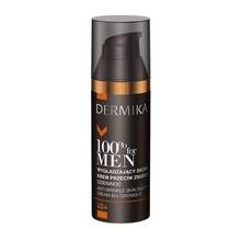 Dermika 100% For Men 40+, wygładzający skórę krem przeciw zmarszczkom, 50ml