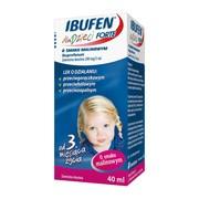 Ibufen forte dla dzieci o smaku malinowym, 200 mg/5 ml, zawiesina doustna, 40 ml