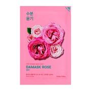 Holika Holika Pure Essence Mask Sheet - Rose, maseczka na bawełnianej płachcie z ekstraktem z dzikiej róży, 20 ml
