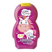 DOZ Daily, szampon i żel do mycia, lemoniada, 250 ml