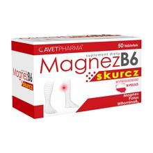 Magnez B6 Skurcz, tabletki powlekane, 50 szt.