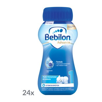 Bebilon 1 z Pronutra Advance, płyn, 24 x 90 ml