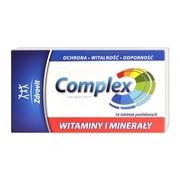 Zdrovit Complex Witaminy i Minerały, tabletki powlekane, 56 szt.