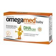 Omegamed Baby, kapsułki twist-off, DHA z alg, 30 szt.