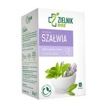 ZIELNIK DOZ Szałwia, zioła do zaparzania, 1,2 g, 30 saszetek