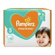 Pampers Sleep & Play 5 (11−16 kg), pieluszki jednorazowe, 42 szt.